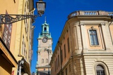 Architecture, Stortorget Square, Gamla Stan, Stockholm, Sweden, Scandinavia, Europe Photographic Print by Frank Fell