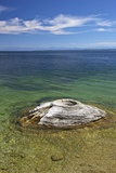 Fishing Cone, West Thumb Geyser Basin, Yellowstone Nat'l Park, UNESCO Site, Wyoming, USA Photographic Print by Peter Barritt