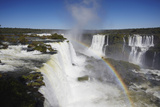 Garganta do Diablo Falls at Iguacu Falls, Iguacu Nat'l Pk, UNESCO Site, Parana, Brazil Photographic Print by Ian Trower