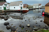 Harbour, Rott Island, Off Stavanger, Norway, Scandinavia, Europe Photographic Print by David Lomax