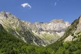 Karst Limestone Peaks Within Ordesa and Monte Perdido Nat'l Pk, Spanish Pyrenees, Huesca, Spain Photographic Print by Nick Upton