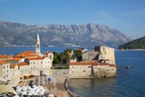View of Old Town, Budva, Montenegro, Europe Photographic Print by Frank Fell