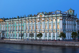 The Winter Palace in Evening Light, UNESCO World Heritage Site, St. Petersburg, Russia, Europe Photographic Print by Martin Child