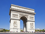Arc de Triomphe, Paris, France, Europe Photographic Print by Neale Clark