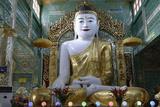 Central Pagoda, Soon U Ponya Shin Pagoda, Sagaing Hill, Republic of the Union of Myanmar (Burma) Photographic Print by J P De Manne
