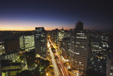 City Skyline at Dusk, Belo Horizonte, Minas Gerais, Brazil, South America Photographic Print by Ian Trower