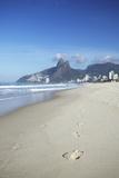 Ipanema Beach, Rio de Janeiro, Brazil, South America Photographic Print by Ian Trower
