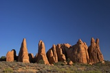 Rock Formation, Devils Garden Trailhead, Arches National Park, Moab, Utah, United States of America Photographic Print by Peter Barritt
