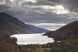 Loch Shiel under Heavy Storm Clouds, Argyll and Bute, Scotland, United Kingdom, Europe Photographic Print by Julian Elliott