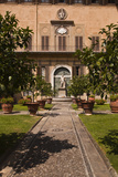 The Outdoor Courtyard of Palazzo Medici Riccardi, Florence, Tuscany, Italy, Europe Photographic Print by Julian Elliott