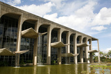 Palacio da Justica, Brasilia, UNESCO World Heritage Site, Brazil, South America Photographic Print by Yadid Levy