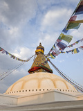 Boudhanath, UNESCO World Heritage Site, Kathmandu, Nepal, Asia Photographic Print by Ben Pipe