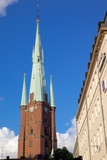 Church, Klarakyrka, Norrmalm, Stockholm, Sweden, Scandinavia, Europe Photographic Print by Frank Fell