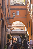 A Narrow Backstreet in the Heart of Florence, Tuscany, Italy, Europe Photographic Print by Julian Elliott