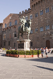 The Equestrian Statue of Cosimo I de Medici in Piazza Della Signoria, Florence, Tuscany, Italy Photographic Print by Julian Elliott