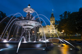 Fontaine de Tourny, Quebec City, Province of Quebec, Canada, North America Photographic Print by Michael Snell