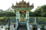 Buddhist Monastery, Hsipaw Area, Shan State, Republic of the Union of Myanmar (Burma), Asia Photographic Print by J P De Manne