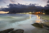 Ipanema Beach at Sunset, Rio de Janeiro, Brazil, South America Photographic Print by Ian Trower