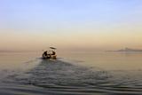 Early Morning, Lake Tana, Bahir Dar, Ethiopia, Africa Stampa fotografica di Simon Montgomery