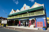 Kralendijk Capital of Bonaire, ABC Islands, Netherlands Antilles, Caribbean, Central America Photographic Print by Michael Runkel
