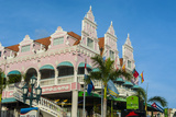 Downtown Oranjestad, Capital of Aruba, ABC Islands, Netherlands Antilles, Caribbean Photographic Print by Michael Runkel