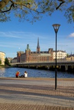 City Skyline, Riddarholmen, Stockholm, Sweden, Scandinavia, Europe Photographic Print by Frank Fell