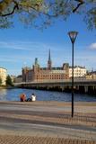 City Skyline, Riddarholmen, Stockholm, Sweden, Scandinavia, Europe Photographic Print by Frank Fell