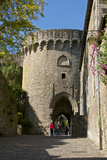 Jerzual Fortified Entrance Gate Dating from the 13th Century, Dinan, Brittany, France, Europe Photographic Print by Guy Thouvenin