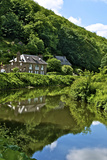 River Rance Banks, Dinan, Brittany, France, Europe Photographic Print by Guy Thouvenin