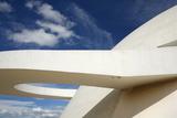 Museo Nacional (Nat'l Museum) Designed by Oscar Niemeyer, Brasilia, UNESCO Site, Brazil Photographic Print by Yadid Levy