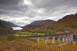 The Magnificent Glenfinnan Viaduct in the Scottish Highlands, Argyll and Bute, Scotland, UK Photographic Print by Julian Elliott