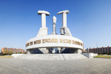 Monument to Foundation of Workers Party of Korea, Democratic People's Republic of Korea, N. Korea Photographic Print by Gavin Hellier