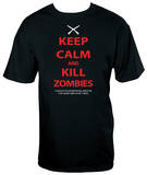 Keep Calm and Kill Zombies Shirts