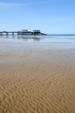 Sand Ripples at Cromer Pier, Cromer, Norfolk, England, United Kingdom, Europe Photographic Print by Mark Sunderland
