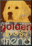 Goldie Mounted Print by Mj Lew