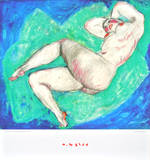 Reclining Nude with Crossed Leg Prints by Alfons Walde