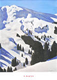 Steinbergkogel Prints by Alfons Walde