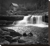 Glade Mill Creek Stretched Canvas Print by Stephen Gassman