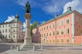 Wrangelska Bracken and Monument, Riddarholmen, Stockholm, Sweden, Scandinavia, Europe Photographic Print by Frank Fell