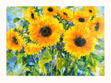 Sunflowers Prints by Andrea Fontana