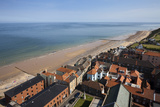 The Beach from St. Peter and St. Paul Church Tower, Cromer, Norfolk, England, United Kingdom Photographic Print by Mark Sunderland