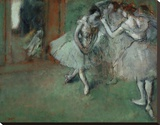 A Group of Dancers, 1890 Stretched Canvas Print by Edgar Degas