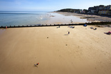 Cromer Beach from the Pier, Cromer, Norfolk, England, United Kingdom, Europe Photographic Print by Mark Sunderland