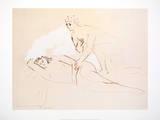 The Lovers - Les Amoureux Kunst von Pablo Picasso