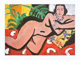 Nude with Blue Eyes Affiches par Henri Matisse