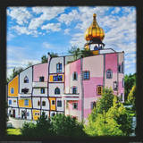 Spa-Village Bad Blumau Prints by Friedensreich Hundertwasser
