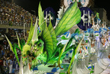 Carnival Parade at the Sambodrome, Rio de Janeiro, Brazil, South America Photographic Print by Yadid Levy