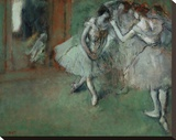 A Group of Dancers, 1890 Stretched Canvas Print by Degas Edgar