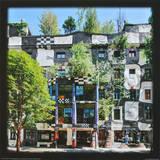 KunstHaus Wien , Vienna Posters af Friedensreich Hundertwasser
