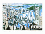 The Bay of Cannes Prints by Pablo Picasso